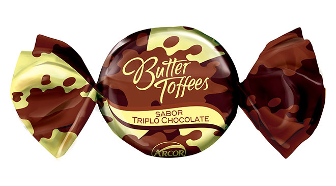 Butter Toffees Triplo Chocolate