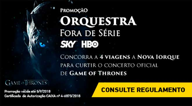 SKY leva ao Concerto de Game of Thrones