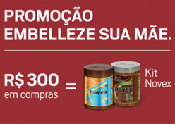 Embelleze dá kit de produtos no NorteShopping
