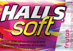 Halls lança Soft Fruit Mix