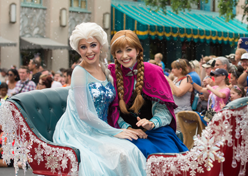Disney leva personagens de Frozen para parques