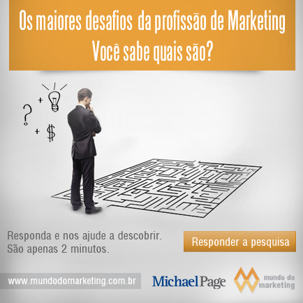 Pesquisa lista desafios do Marketing