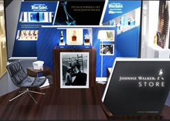 Johnnie Walker inaugura pop-up stores