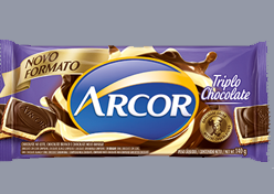 Arcor lança Triplo Chocolate