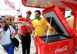 Coca-Cola usa cooler movido à energia solar