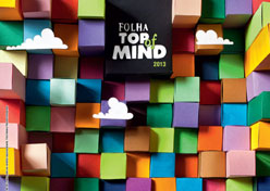 Cinco marcas empatam no Folha Top of Mind