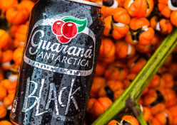 Guaraná Antarctica Black chega ao mercado