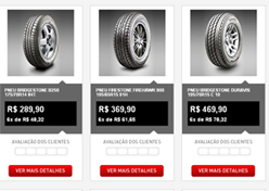 Bridgestone lança e-commerce