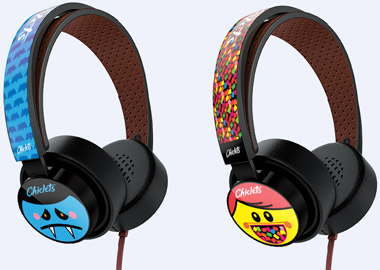 Chiclets vende headphone de personagens