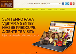 Chocolates Brasil Cacau inaugura e-commerce
