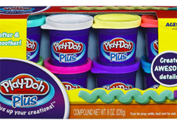 Hasbro lança a massinha Play-Doh Plus