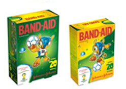 Sundown e Band-Aid trazem design da Copa