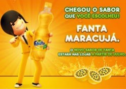 Coca-Cola distribui Fanta Maracujá em shoppings
