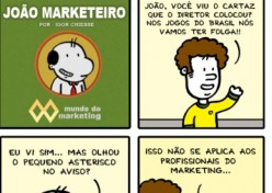 Copa do Mundo de trabalho no Marketing