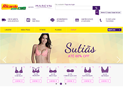 Ricardo Eletro inclui lingerie no e-commerce