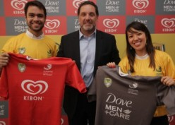 Dove Men+Care e Kibon patrocinam Rugby
