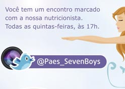 Seven Boys promove bate-papo no Twitter