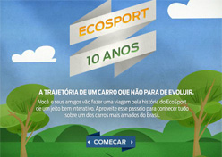 Ford conta história do EcoSport no Facebook