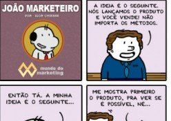 Marketing é o último a saber?