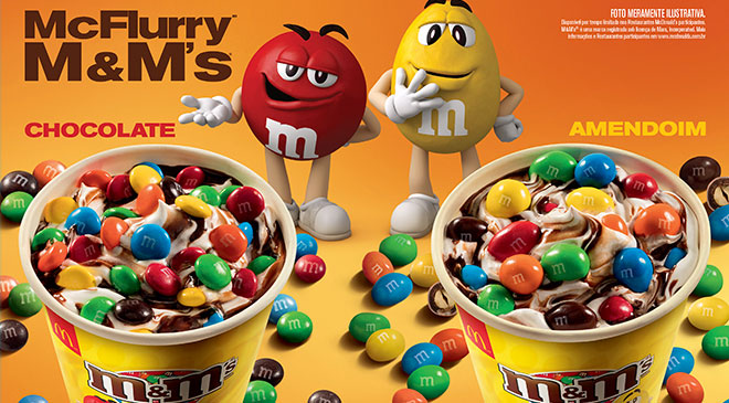 McDonald's retorna McFlurry de M&M's