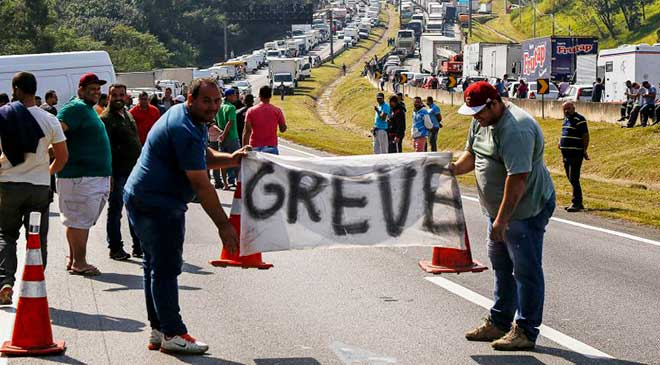 A greve dos caminhoneiros e o Marketing