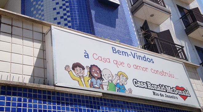 As ações de Marketing da Casa Ronald
