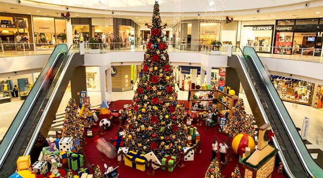 Natal: shoppings elevam investimento