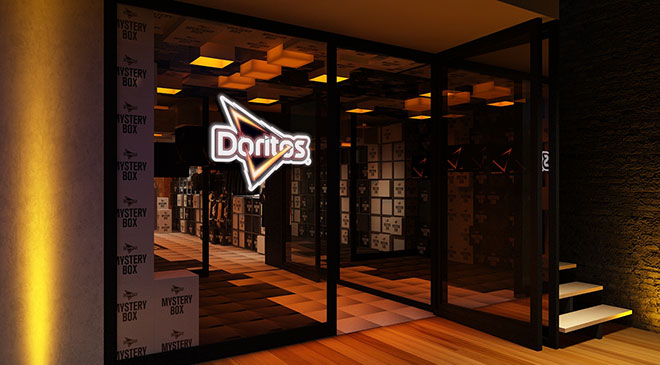 Doritos abre a pop up store Mistery Shop