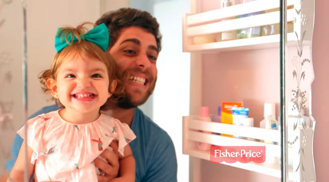 Fisher-Price faz vídeo com consumidores