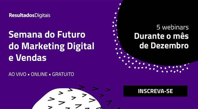 Futuro do Marketing Digital e Vendas é o tema de webinars da RD