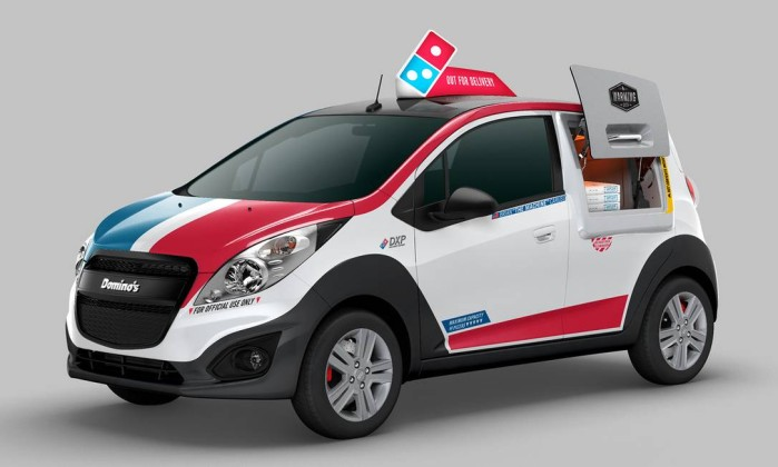 Domino's, Delivery, Pizza, PizzaMóvel
