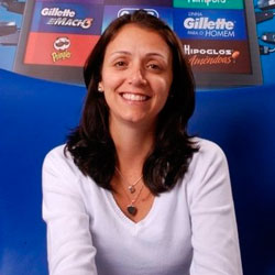 Giuliana Moretti, Diretora de Marketing de Gillette