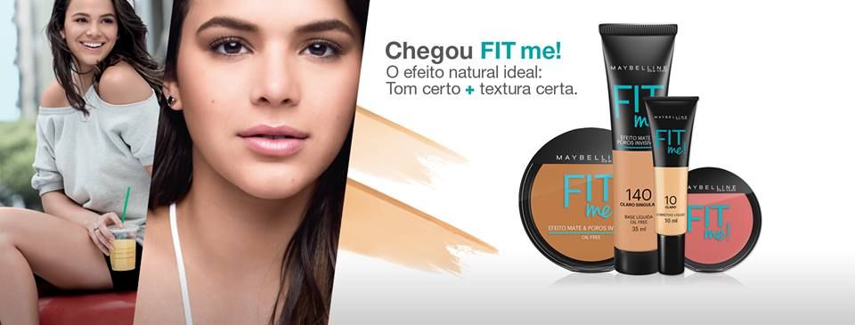 Maybelline, Fit Me, Maquiagem, Beleza, Mulher