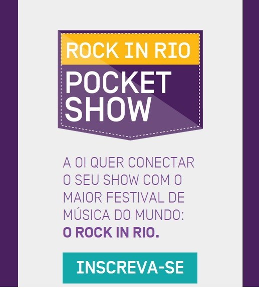 Oi, Rock in Rio, Oi Pocket Show