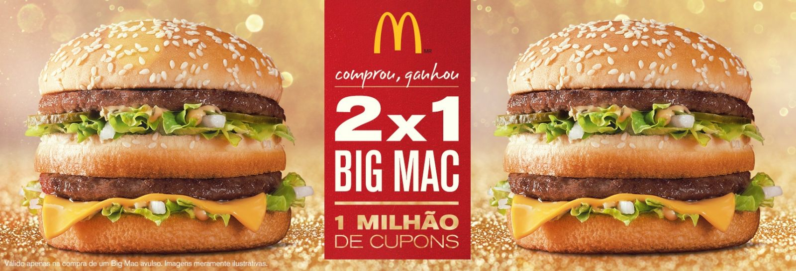 McDonald's, Big Mac, cupom