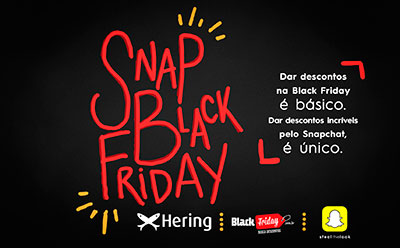 Hering, Snapchat, Black Friday