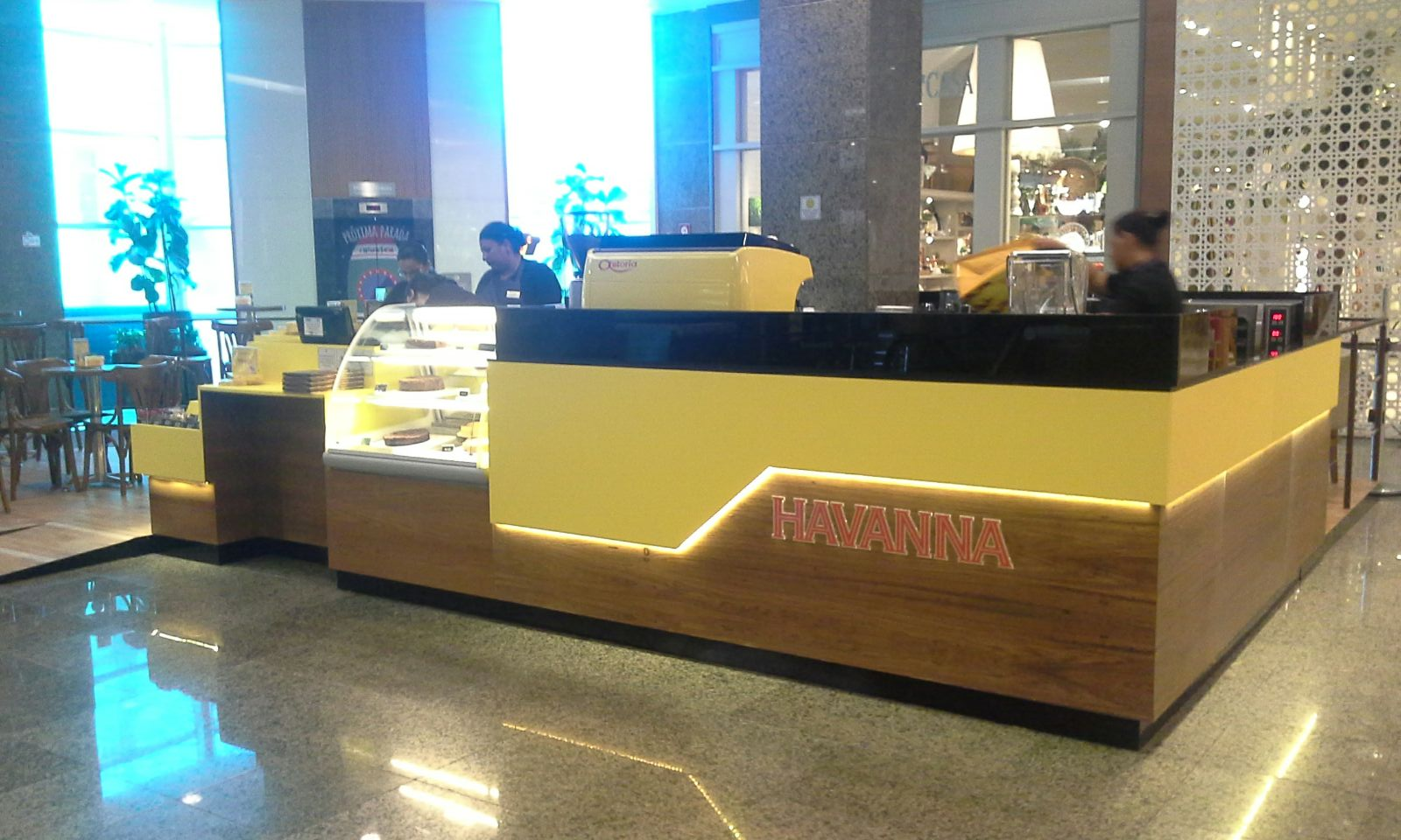 Havanna, quiosque, Shopping Rio Design Barra
