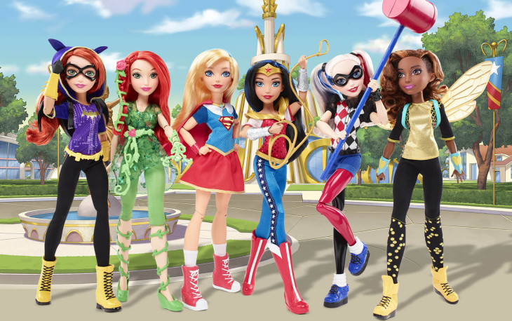 Mattel, DC Super Hero, Girls
