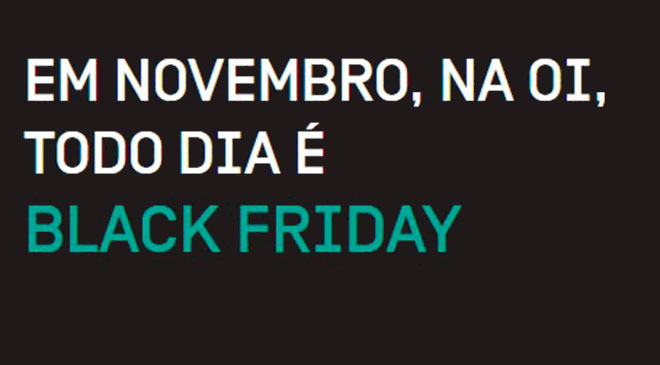 Black Friday, Oi, smartphone