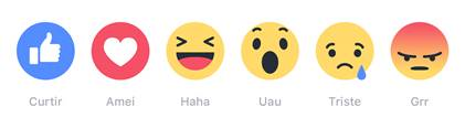 Facebook, Reactions, emojis