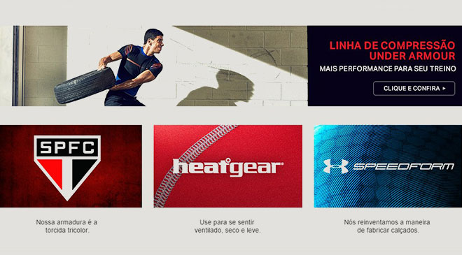 Under Armour, e-commerce