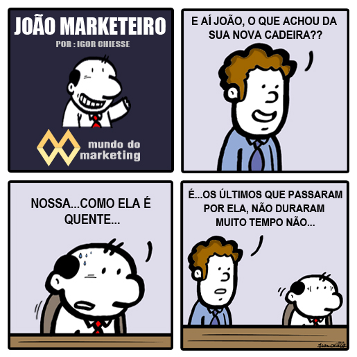 Alta rotatividade no Marketing