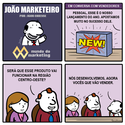 A distância entre Marketing e Vendas