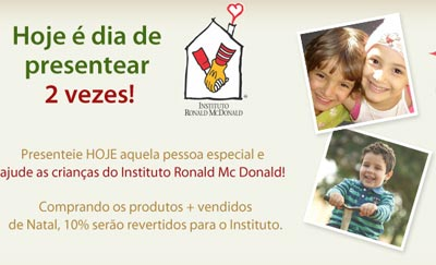 Giuliana Flores,Instituto Ronald McDonald