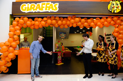 Giraffas,Marketing,reestruturação,restaurante