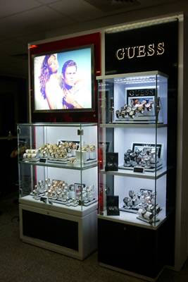 guess watches,shop in shop,pdv