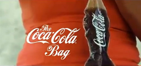 Coca-Cola,sacola,coca-cola bag