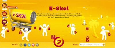 skol,e-commerce,marca