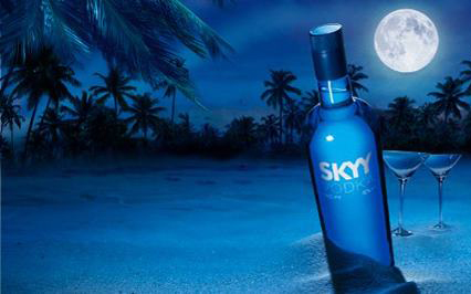 Skyy Vodka,Mercedes Bens Fashion Week, Nova York