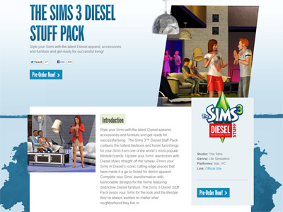the sims,diesel,game,55dsl